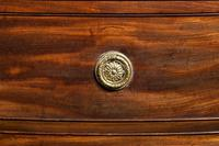 George III Period Mahogany Five Drawer Chest (2 of 2)