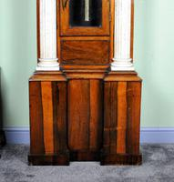 Palatial Regulator Clock - Exhibition quality with carved marble pillars (9 of 12)