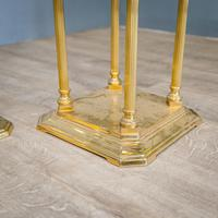 Pair of Brass Plant Stands (6 of 8)