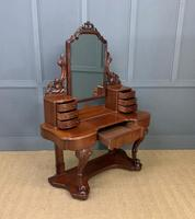 Excellent Victorian Mahogany Duchess Dressing Table (18 of 21)