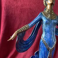 "Erte (romain De Tirtoff) Ltd Edition Bronze Sculpture ""Ecstasy"" 163/500 (2 of 16)"