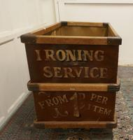 London Laundry Co. Industrial Trolley Cart (5 of 5)