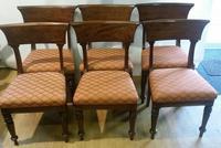 Set 6 George III Mahogany Trafalgar Chairs (2 of 6)