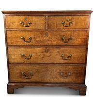 English George III Oak Chest of Drawers (2 of 11)