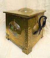 Arts & Crafts Coal Box (2 of 7)