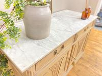 French Antique Style Marble Sideboard / Cupboard / Washstand (2 of 7)