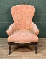 French Louis Philippe Rosewood Armchair (4 of 10)