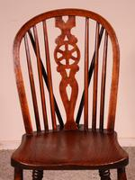 Set of 10 Windsor Wheelback Chairs 19th Century -  England (11 of 11)