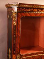 Superb French Display Cabinet Kingwood & Ebony (5 of 12)
