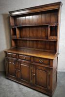 Titchmarsh & Goodwin Oak Dresser & Rack (3 of 15)