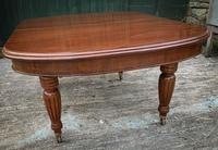 Victorian 3 Leaf Extending Dining Table Seats 10 (3 of 13)