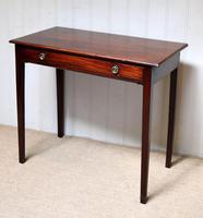 Early 19th Century Mahogany Side Table c.1820 (8 of 10)