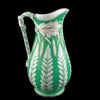 Victorian Staffordshire Pottery Jug (2 of 8)