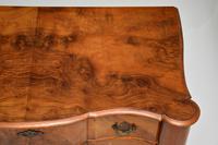Antique Burr Walnut Lowboy Side Table (4 of 9)