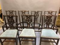 Set of 18th Century Mahogany Dining Chairs (5 of 21)
