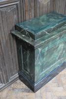 Original Painted Marble Pedestal (5 of 6)