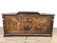Early 20th Century Carved Camphor Trunk (6 of 14)