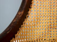 19th Century Victorian Caned Occasional Chair (3 of 9)