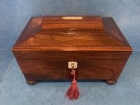 Regency Sarcophagus Rosewood Jewellery Box (15 of 15)
