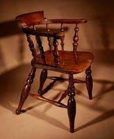 Captains / Smokers Bow-back Armchair (11 of 14)