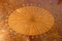 George III Two Tier Inlaid Mahogany Table (9 of 11)