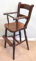 Antique Childs Windsor Highchair (6 of 12)