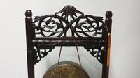 Oriental Gong in Paduke Wood (2 of 8)