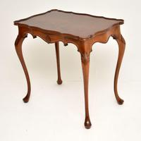 Antique Walnut Pie Crust Side  Table (8 of 9)