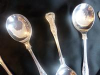 Eight 'King's Pattern' Soup Spoons (3 of 5)
