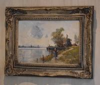 Oil Painting by Alfred Sanderson Edward RBA (2 of 9)
