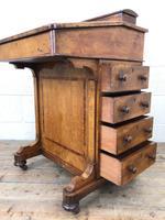 Antique Walnut Davenport Desk (7 of 11)
