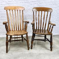 4 x Windsor Lathback Armchairs (4 of 5)