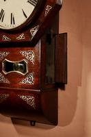 An Interesting Drop Dial American Wall Clock, Second Half 19th century. (12 of 12)