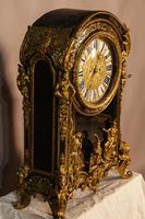Massive Buele Mantle Clock Double Fusee (7 of 17)