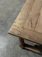 Rustic French Oak 19th Century Farmhouse Kitchen Table (13 of 31)