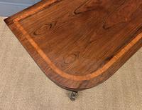 Regency Inlaid Rosewood Card Table (10 of 20)