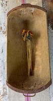 Antique Wooden French Dough Trough