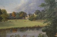 Richard Hilditch Mid 19thC 'Cambridge Meadow, Richmond' (3 of 4)