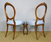 Pretty Pair of Victorian Balloon Back Chairs (6 of 6)