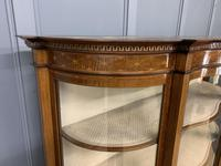 Maple & Co Inlaid Mahogany Display Cabinet (16 of 17)