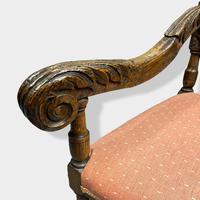 17th Century High Back Armchair (8 of 14)