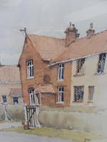 Watercolour Country Village Exhibited Artist Tony Hunter (4 of 10)
