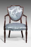 Set of Six Late 19th Century Hepplewhite Design Chairs (9 of 12)