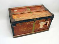 WW1 Era Marshall Campaign Chest / Trunk, Labels & Provenance (20 of 23)