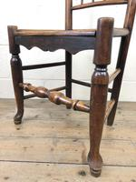 Set of Four 19th Century Elm Country Chairs (12 of 13)