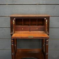 Beautiful 19th Century Campaign Writing Desk (5 of 8)
