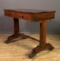 Smaller Size Rosewood William IV Library Table