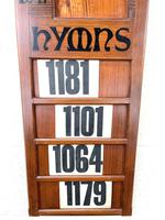 Early 20th Century Antique Hymn Board (4 of 4)