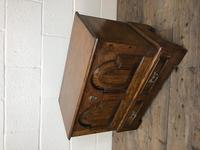 Antique 18th Century Style Welsh Oak Coffer Bach (13 of 14)