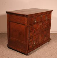 Jacobean Chest of Drawers in Oak 17th Century (8 of 11)